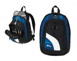 Značkový sportovní batoh Slazenger BOLT s prostorem pro uložení obuvi - černá