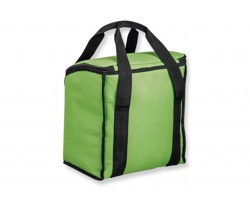 Velká polyesterová termotaška KARMEL - světle zelená