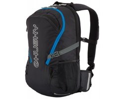 Víceúčelový batoh na kolo i trek HUSKY BOOSTY s pláštěnkou - černá