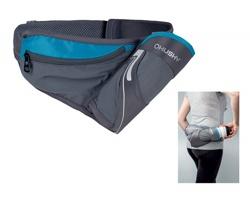 Sportovní bederní pás z polyesteru s nepromokavou úpravou HUSKY BEDY - šedá