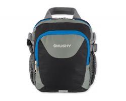 Sportovní ripstopová taška Husky MEDINA s nastavitelným ramenním popruhem - černá