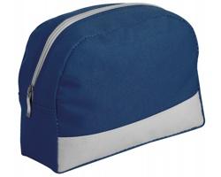 Cestovní polyesterová kosmetická taška ROSETA - tmavě modrá