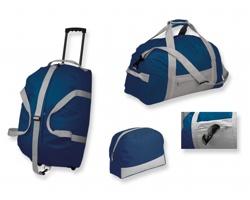 Sada cestovních tašek z polyesteru PACK SET - tmavě modrá