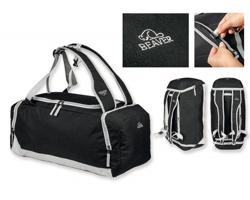 Polyesterová cestovní taška / batoh Beaver TYLER - černá