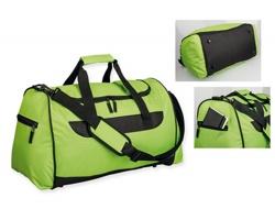 Polyesterová cestovní taška SENNET - světle zelená