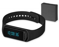 Fitness hodinky ACTIVO se snímačem aktivity, 4 funkce - černá