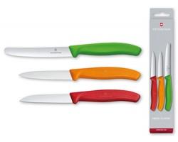Značková sada nerezových kuchyňských nožů Victorinox SWISS BOX, 3 ks