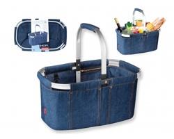 Skládací nákupní košík Tescoma SHOPSTER I - tmavě modrá
