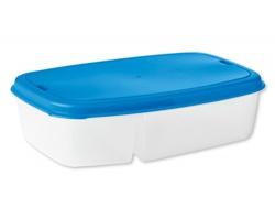 Plastový obědový box BOXITO s příborem - modrá