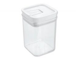 Značková plastová dóza na potraviny Tescoma AIRSTOP, 1,0 l - transparentní
