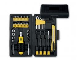Sada nářadí IMBO v kufříku, 45 funkcí - světle žlutá