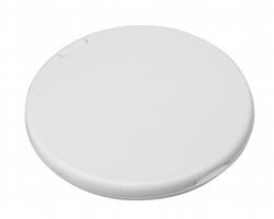 Plastové zrcátko MEIRA - bílá