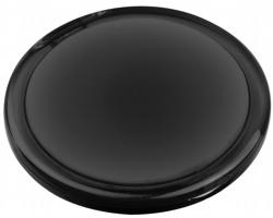 Plastové zrcátko MEIRA - transparentní černá