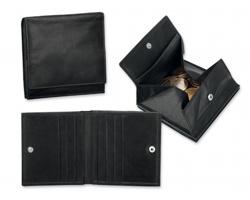 Pánská kožená peněženka MOREY - černá
