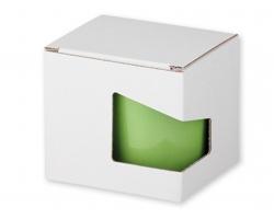 Papírová dárková krabička GB MOCCA - bílá