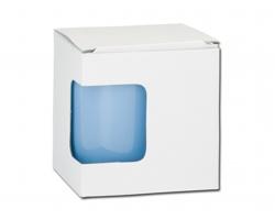 Papírová dárková krabička GB MUG - bílá