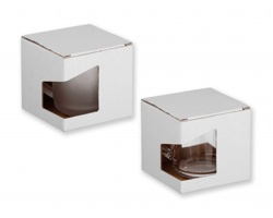 Papírová dárková krabička GB SOFFY - bílá