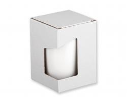 Papírová dárková krabička GB DUWAL - bílá