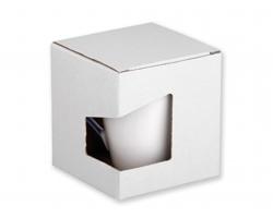 Papírová dárková krabička GB COLBY - bílá