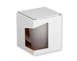 Papírová dárková krabička GB GLASPER - bílá