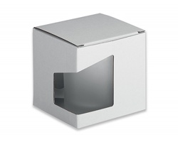 Papírová dárková krabička GB KENNY II - bílá