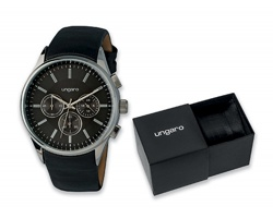 Pánské vodotěsné náramkové hodinky Seiko Ungaro GIO v dárkové krabičce - černá