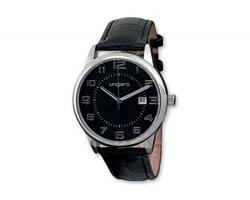 Pánské náramkové hodinky UNGARO EZIO s minerálním sklem - černá