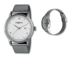 Značkové pánské náramkové hodinky Seiko Ungaro GUARDIO s minerálním sklem - přírodní