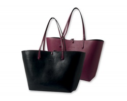 Oboustranná dámská kabelka Cacharel TRACOLLA - černá