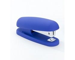Plastová sešívačka THAYER se silikonovou úpravou - modrá