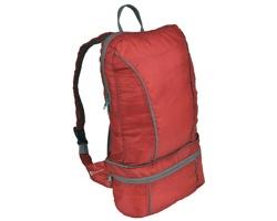 Značkový multifunkční batoh / ledvinka Schwarzwolf NUBE, 2 v 1 - červená