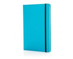 Poznámkový blok v tvrdých deskách FOSS, formát A5 - modrá