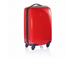 Čtyřkolečkový kufr LOTHAR - červená