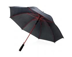 Osmipanelový deštník VALLEY s automatickým otevíráním - červená