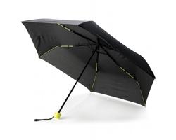 """Šestipanelový bouřkový 21"""" deštník SKIRT - zelená"""