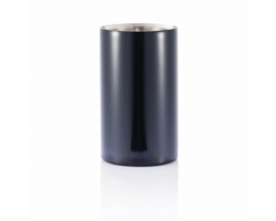 Nerezový chladící kbelík MICAH na láhve - černá