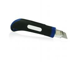 Vysouvací řemeslnický nůž GILA, 18mm - modrá