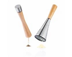 Sada do kuchyně ITASCA s mlýnkem na pepř a struhadlem - hnědá