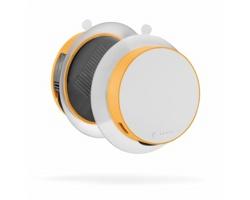 Solární nabíječka SUNPOW s USB portem, 1000mAh - oranžová