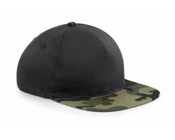Unisexová čepice s kšiltem Beechfield Camo