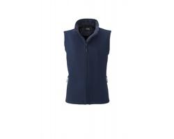 Dámská softshellová vesta James & Nicholson Ladies Promo Softshell Vest