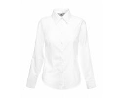 Dámská košile Fruit of the Loom Lady-Fit Long Sleeve Oxford