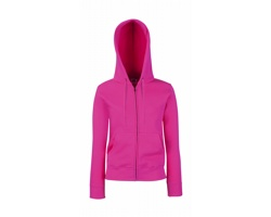 Dámská mikina Fruit of the Loom Lady-Fit Hooded Sweat Jacket