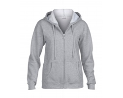 Dámská mikina Gildan Fit Full Zip Hooded Sweatshirt Heavy Blend