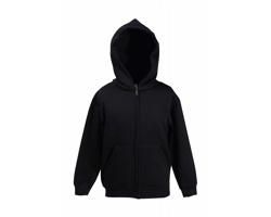 Dětská mikina Fruit of the Loom Kids Hooded Sweat Jacket