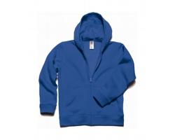 Dětská mikina B&C Hooded Full Zip