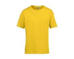 Dětské tričko Gildan Euro Fit Soft Style Ring Spun