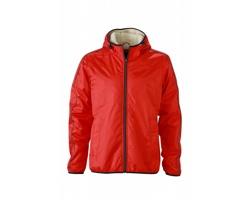 Pánská bunda James & Nicholson Mens Winter Sports Jacket