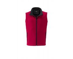 Pánská softshellová vesta James & Nicholson Mens Promo Softshell Vest