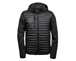 Pánská bunda Tee Jays Hooded Crossover Jacket